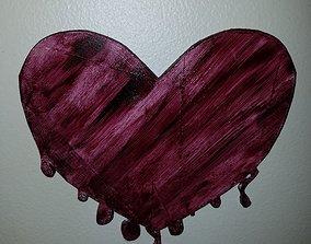 Drippin Heart 3D model