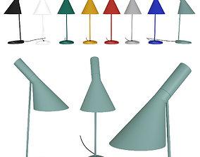 Portable lamp AJ Louis Poulsen by Arne Jacobsen 3D