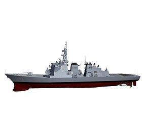 Japanese Navy DDG-173 Kongou Class Destroyer 3D model