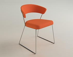 Calligaris Icon Dining Chair 3D