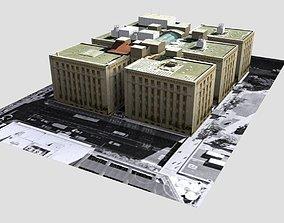 3D model ANZAC Square