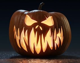3D model Halloween Pumpkin - Jack-o-lantern 2