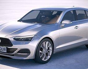Generic Hatchback 2018 3D
