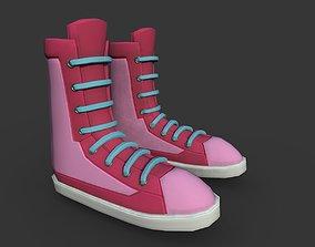 3D model Boots Pink