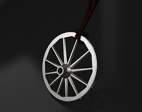 eccentric wheel pendant - original 3D print model
