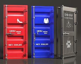 3D model Industrial doors