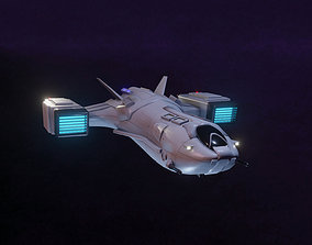 3D model realtime Space Fighter