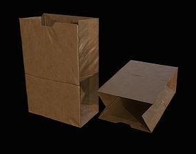 3D model Paper Bag PBR
