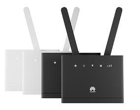 3D model WiFi Router Set - Huawei B315