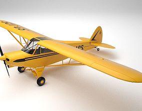 Piper PA-18 Supercub 3D