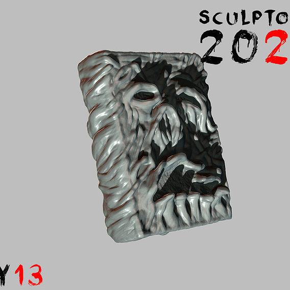 Sculptober Day 13 Lore
