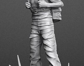 Luke Skywalker Training 3D model