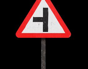 Side road left Roadside 3D asset