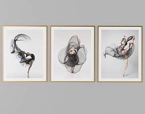 architectural Dance Picture Frames 3D