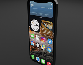 iphone12 max pro 3D