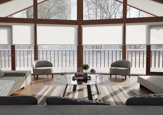 Winter Living Room day
