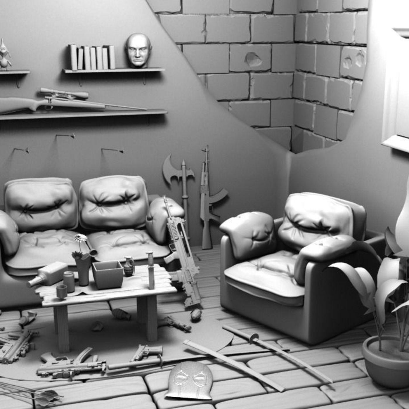 Deadpool's room