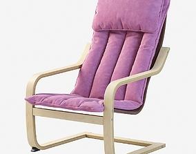 Poang Childrens armchair 3D