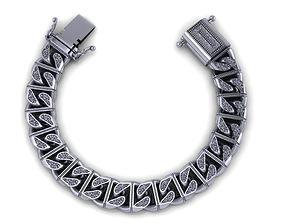 chain bracelets 07 3D printable model