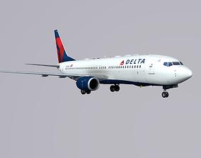Boieng 737-800 Delta Airlines 3D model