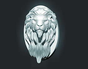 3D printable model Lion Head Sculpture