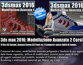 066 3ds max 2016 Modellazione Avanzata Cd Front V 66