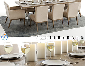 Pottery Barn Durham and Sadie 3D
