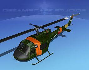 3D model Bell UH-1B Iroquois JDF