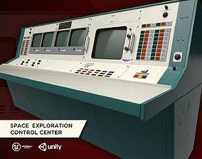 3D asset Space Exploration Control Center - Apollo Flight