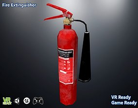 3D asset realtime Fire Extinguisher equipment