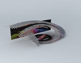 3D model Eurovision Song Contest 2015 Stage