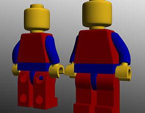 3D legoman