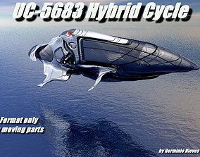 3D model UC-5683 Hybrid Cycle