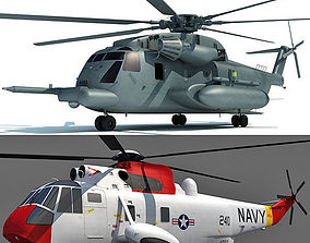3D Models - 2 Military Helicopters