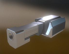 Heavy Gun Modul High Poly 3D model