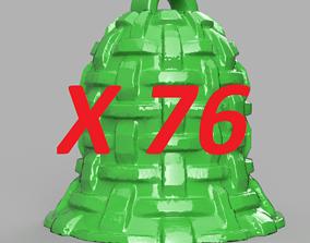 cloche de noel X76 3D printable model