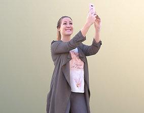 3D model Rocio 10299 - Selfie Casual Girl