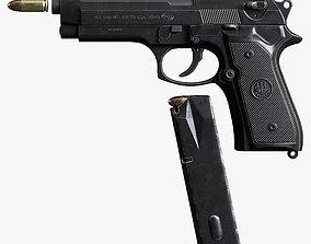 3D model Pistol Beretta M9