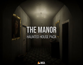 The Manor - Haunted House Pack - Blender and FBX 3D model