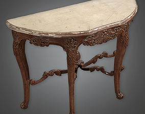 3D model Table 04 Antiques - PBR Game Ready