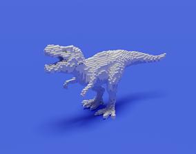 3D printable model Voxel T-Rex