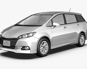 2014 Toyota Wish 3D model