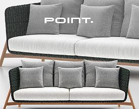 Round Sofa 3 - Point 3D