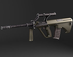 3D model Steyr Aug A1 assault rifle