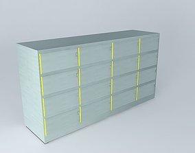 Airplane Bar Shelf 3D