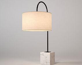 Chelsom Table Lamp Rock 3D