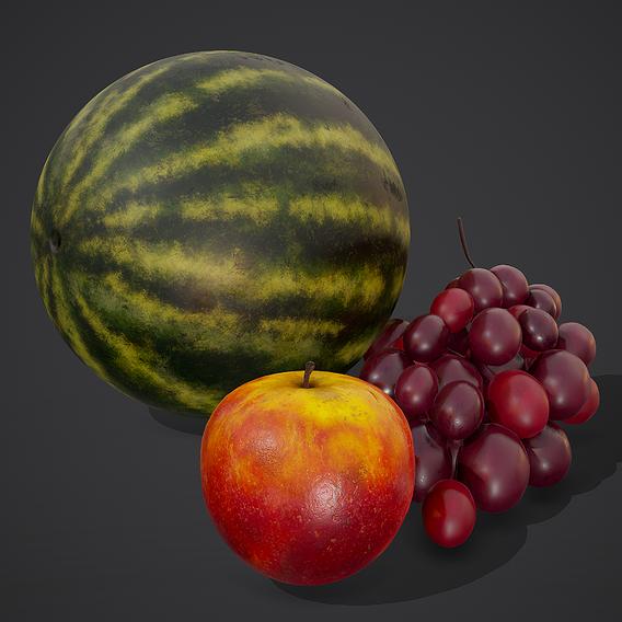 3 Fruits