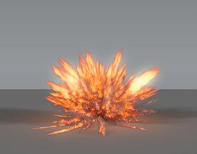 Fire Explosion 03 - VDB 3D