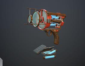 Retro laser pistol 3D model