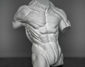 Sculpture hercules figure 3D model